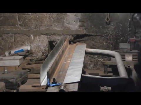 Как согнуть листовой металл , в домашних условиях