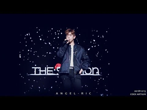 [fancam] 181215 에릭남 Eric Nam - '남자친구OST - 그 밤(The Night)' 무반주짧게 @ THE STATION