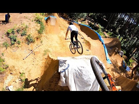 FINALLY BACK RIDING THE DIRT JUMPS!!