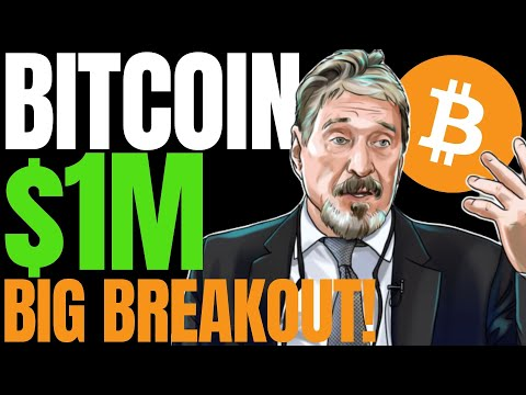 BITCOIN BREAKOUT ON JULY 22ND? 5 Things to Watch for BTC Price This Week | McAfee $1M Bet Honored?
