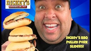 Dickey's Barbecue Pit's© Pulled Pork Sliders REVIEW!