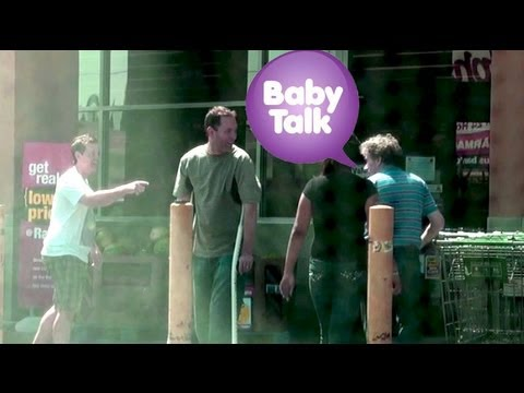 Talking Baby Talk to Adults