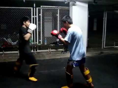 Muaythai VS Judo (Sparring Muaythai) Pt 1