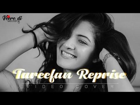 Tareefan Reprise Ft. Devanshi | Selenophile | Rushi dave | videocover