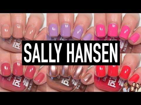 Sally Hansen - Good. Kind. Pure.   Swatch & Review