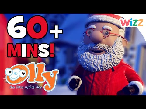 Olly The Little White Van - Christmas Special | 60+ minutes |  Christmas Adventures with Olly