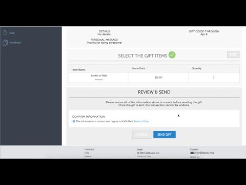 How to Send Promo Gifts to Customers with ItsOnMe