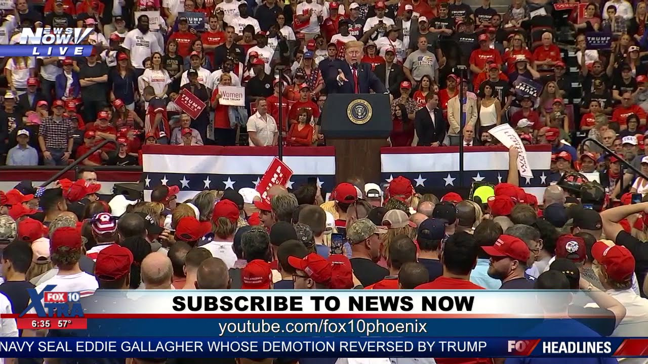 RALLY RESCUE: Trump points out person in rally crowd in need of help