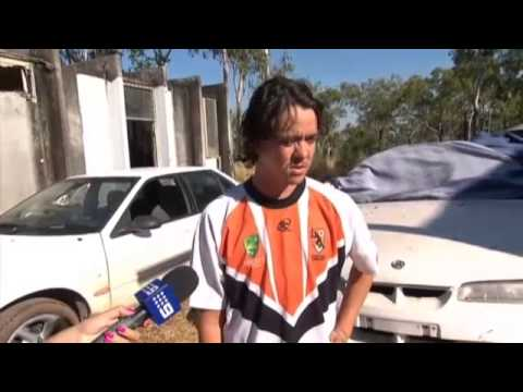 Funny interview with an Aussie Bogan - describing being shot at while doing a burn out