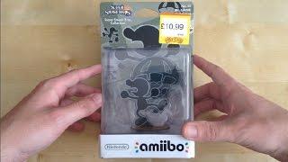 Unboxing Mr Game & Watch Amiibo (UK)