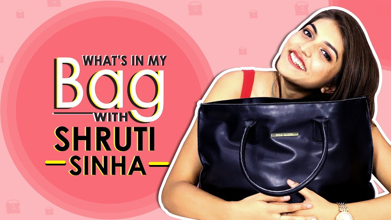 What's In My Bag With Shruti Sinha | Bag Secrets Revealed | Exclusive