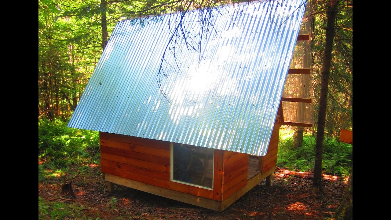 tiny house workshop. Deek\u0027s $300 Vermont A-Frame Cabin (Tiny House Workshop)- W/WOOD TURTLE Sighting - YouTube Tiny Workshop S