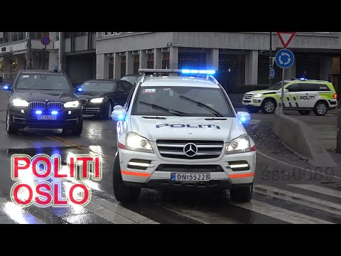 Police Norway / Oslo Politi VIP Escort [NO | 12.2016]