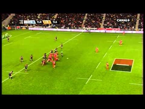Demi finale Top14 Toulon vs Toulouse Drop Jonny Wilkinson