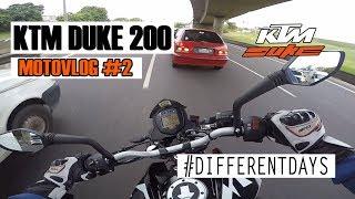 MOTOVLOG #2| KTM DUKE 200 | BRODOBIKER