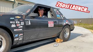 homepage tile video photo for Absolutely Ripping The Motion Raceworks Turbo Mustang + Ruby and Leroy Prep for RACE WEEK 2.0!!!
