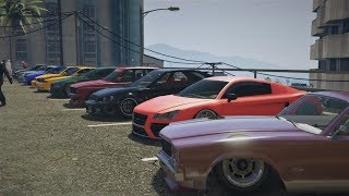 GTA 5 Online (XB1) | Clean Stance Car Meet Hosted By Girl Gamer - Chillin & Funny Moments