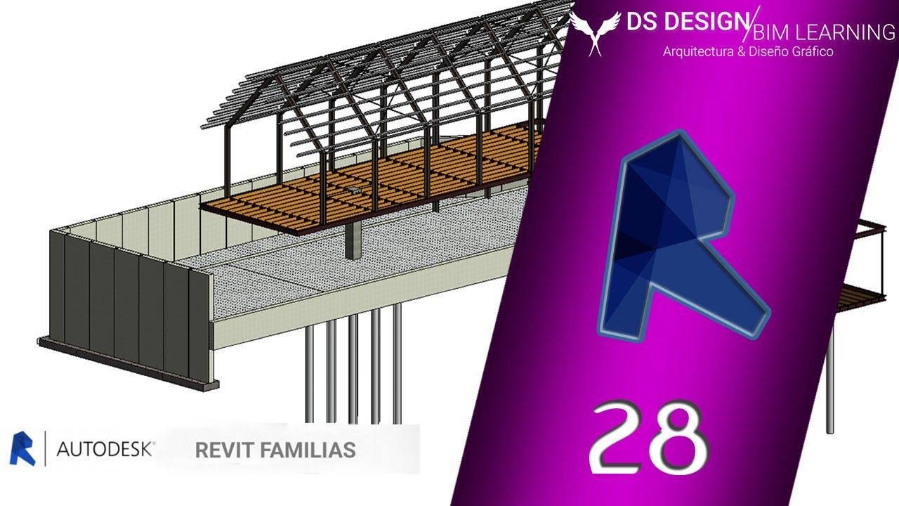 FamiliasCap Contrafuerte Curso 28 Revit Estructural tsrhQd