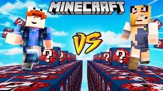 SZALONY WYŚCIG! - MÓZGOWE LUCKY BLOCKI MINECRAFT! (Nerd Lucky Block Race) | Vito vs Bella