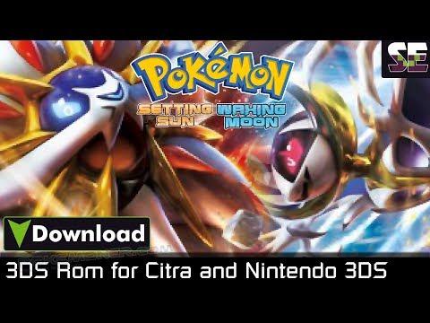 3DS] Pokemon Setting Sun - Pokemoner com