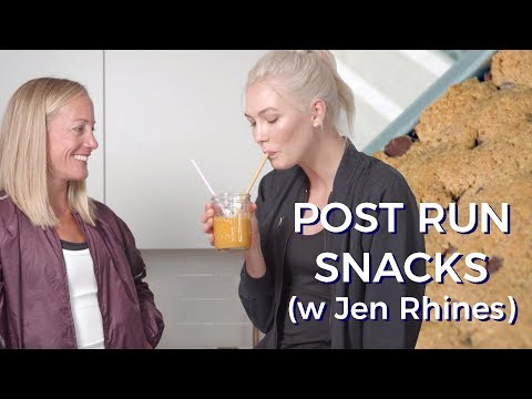 What I eat after long runs | Karlie Kloss