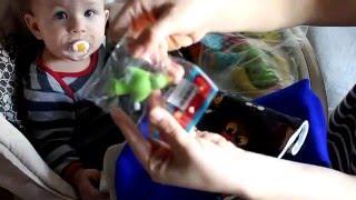 Посилка з Китаю для діток (шапка+шарф,хомут,іграшка)