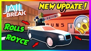 🔴ROBLOX JAILBREAK! NEW CAR AND BOSS UPDATE RELEASING TODAY!! Come Join! 😃 | +GIVEAWAY thumbnail