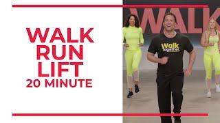 Подъемник Walk Run  20 минут тренировки