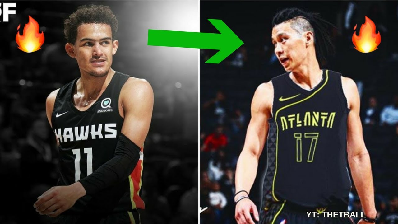 super popular d23ac 0b58d How Jeremy Lin Fits With the Atlanta Hawks | Starting With Trae Young After  Trade From Brooklyn Nets