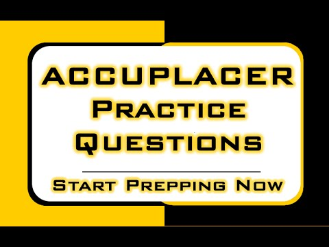 ACCUPLACER Practice Questions - Free ACCUPLACER Math Tips ...