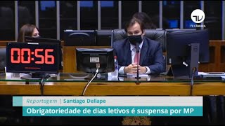 Notícias/Reportagens - Junho 2020 - Obrigatoriedade de dias letivos é suspensa por MP - 30/06/20