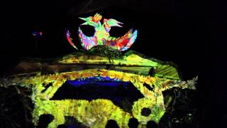 Freqs of Nature Festival 2015 Ulvae Forest Floor Video Mapping