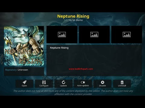 Neptune Rising Kodi Addon Download[Latest] on Kodi 17 6
