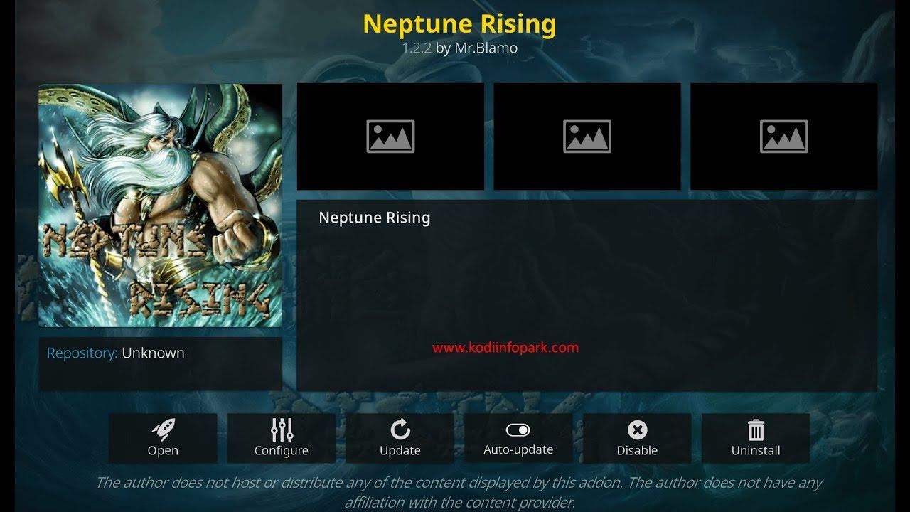 Neptune Rising Kodi Addon Download[Latest] on Kodi 17 6