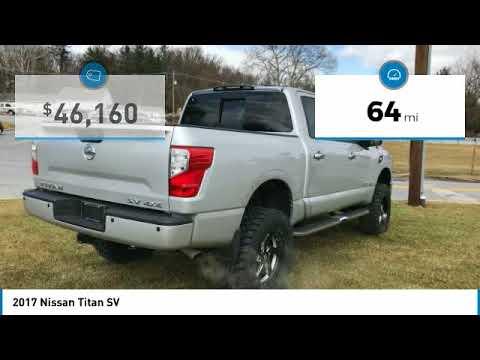2017 Nissan Titan York PA 26770