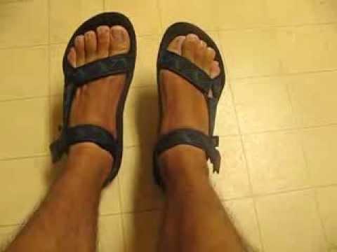 444332b3ee3 Me reviewing my Teva Terradactyl Sandals. - YouTube
