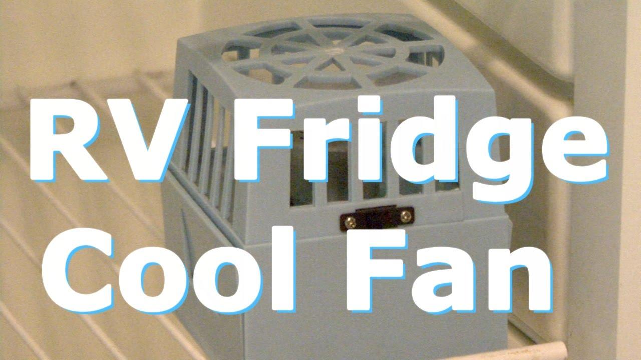 RV Fridge Cool Fan
