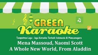 Mena Massoud, Naomi Scott - A Whole New World from Aladdin (Karaoke)