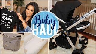 HUGE Baby Haul! Clothing & Products | NitraaB
