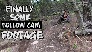 Fast and flowy follow cam footage of Megs Braap