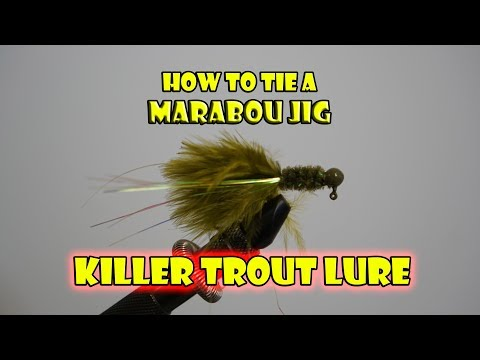 How To Tie The Marabou Jig - Killer Trout Lure