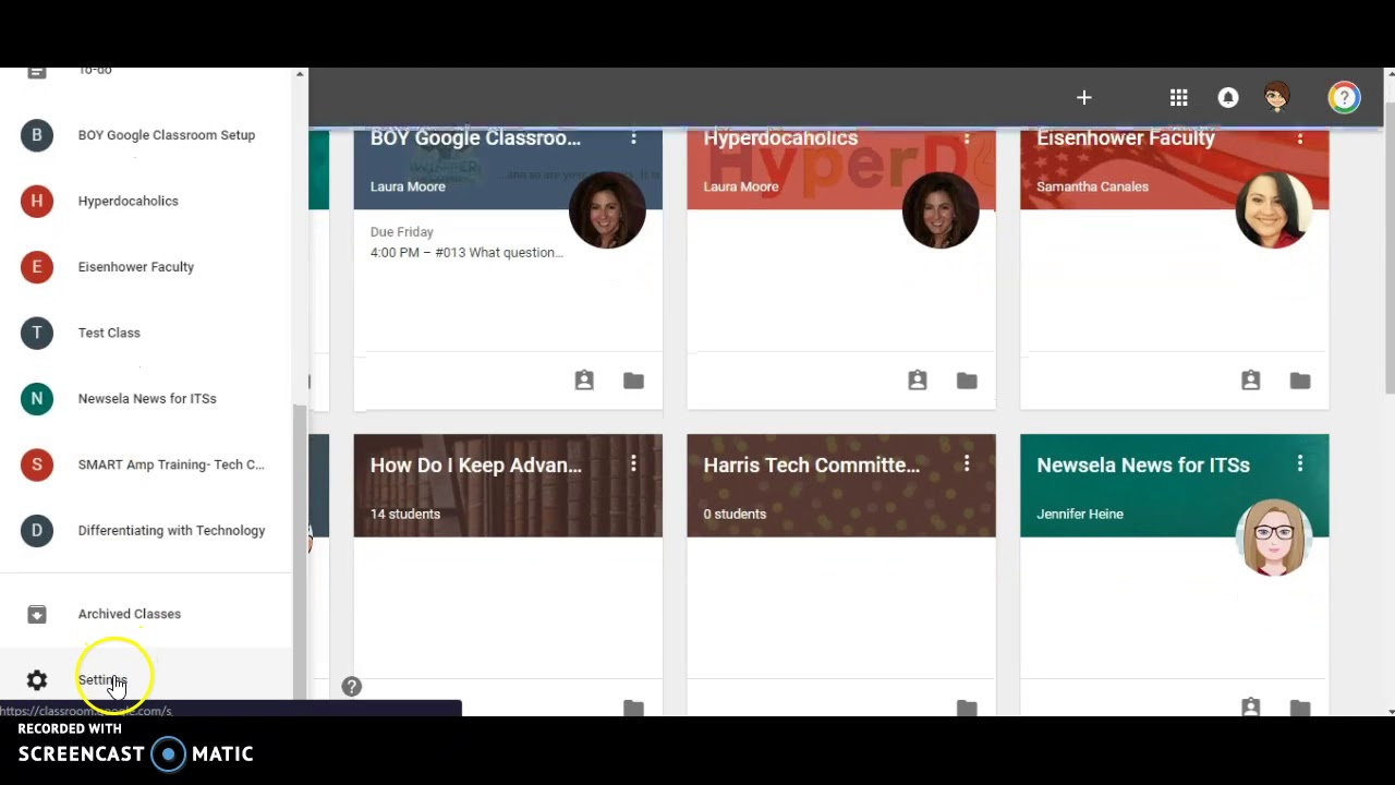 Change Profile Pic in Google Classroom - YouTube