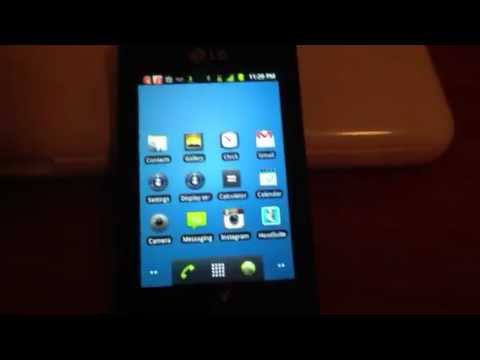 NET10 LG Optimus Net No Contract Touch Screen Prepaid Cell
