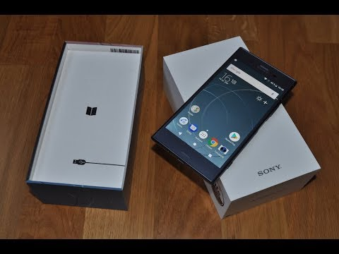 Sony XPERIA XZ1 unboxing - YouTube