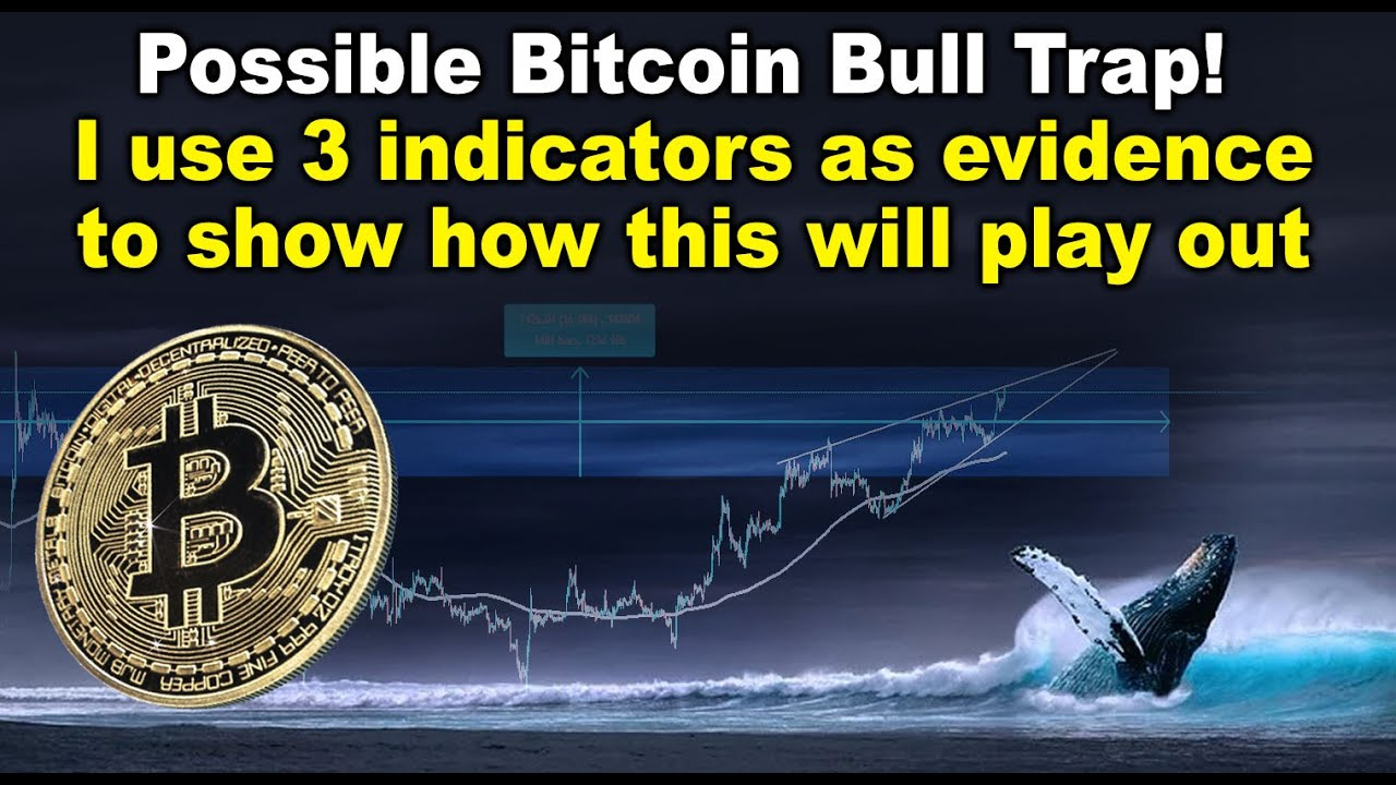 Possible Bitcoin Bull Trap! I use 3 indicators as evidence to show how this will play out  - BTC TA