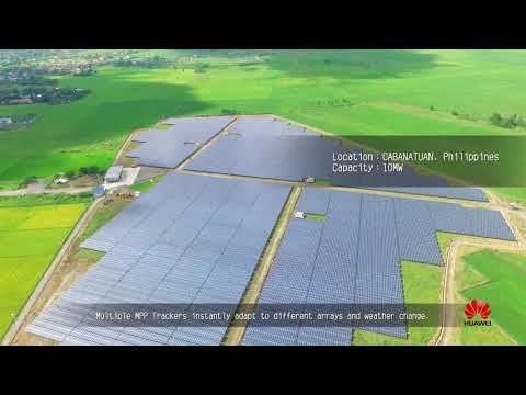 Huawei FusionSolar Inverter -  Asia Pacific Installations