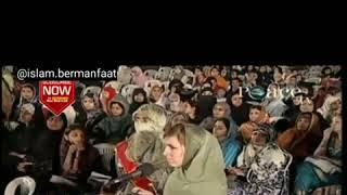 Dr. Zakir Naik debat seru dengan mahasiswi kristen cerdas