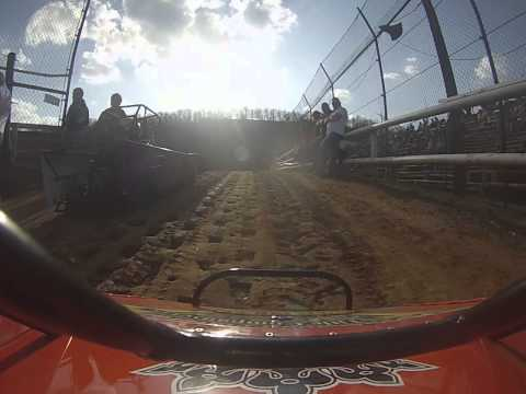 4/12/14 Tyler County Speedway Mini Wedge Heat Race 1.