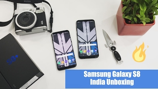 Samsung Galaxy S8 Unboxing With S8+