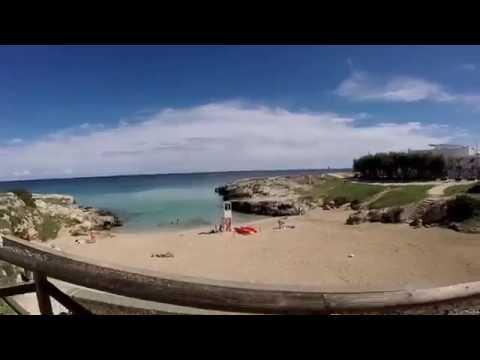 In bici lungo la costa di Monopoli
